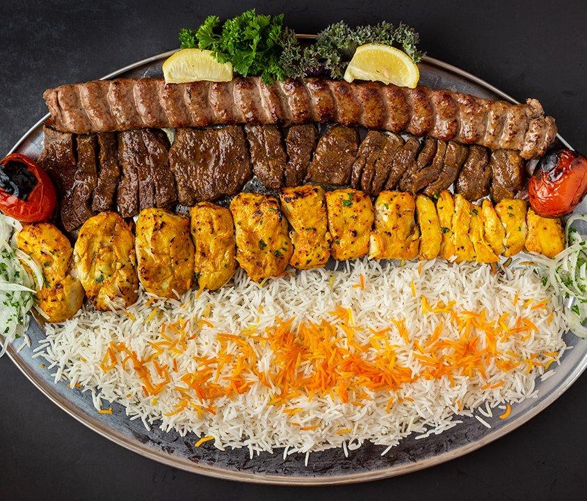 Persian Room Special Platter