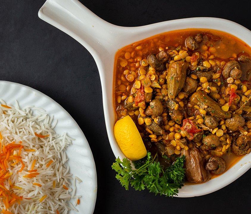 Vegeterian Gheimeh Bademjan