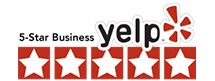 5 Star Yelp Review Badge